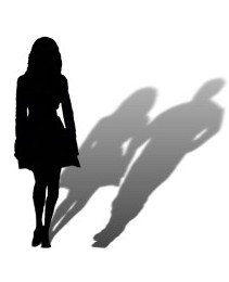 woman_missing_man_silhouette_post_card-p239589222801611206en84n_325
