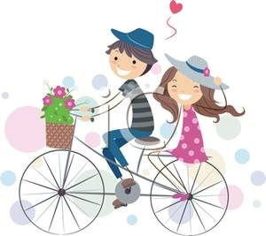 A_Boy_and_Girl_Riding_Together_on_a_Bike_Royalty_Free_Clipart_Picture_110527-178270-295053