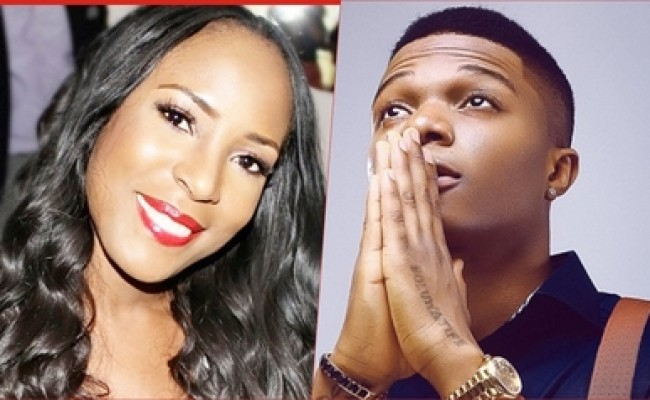 Image result for wizkid and linda ikeji
