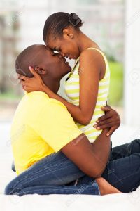 cute-young-african-american-couple-kissing